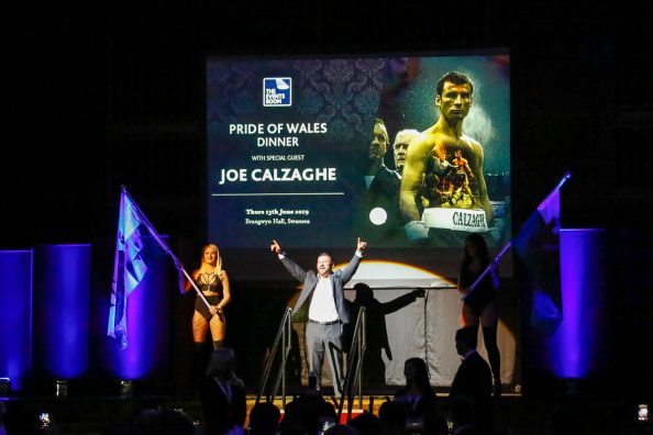 Joe Calzaghe Brangwyn Hall