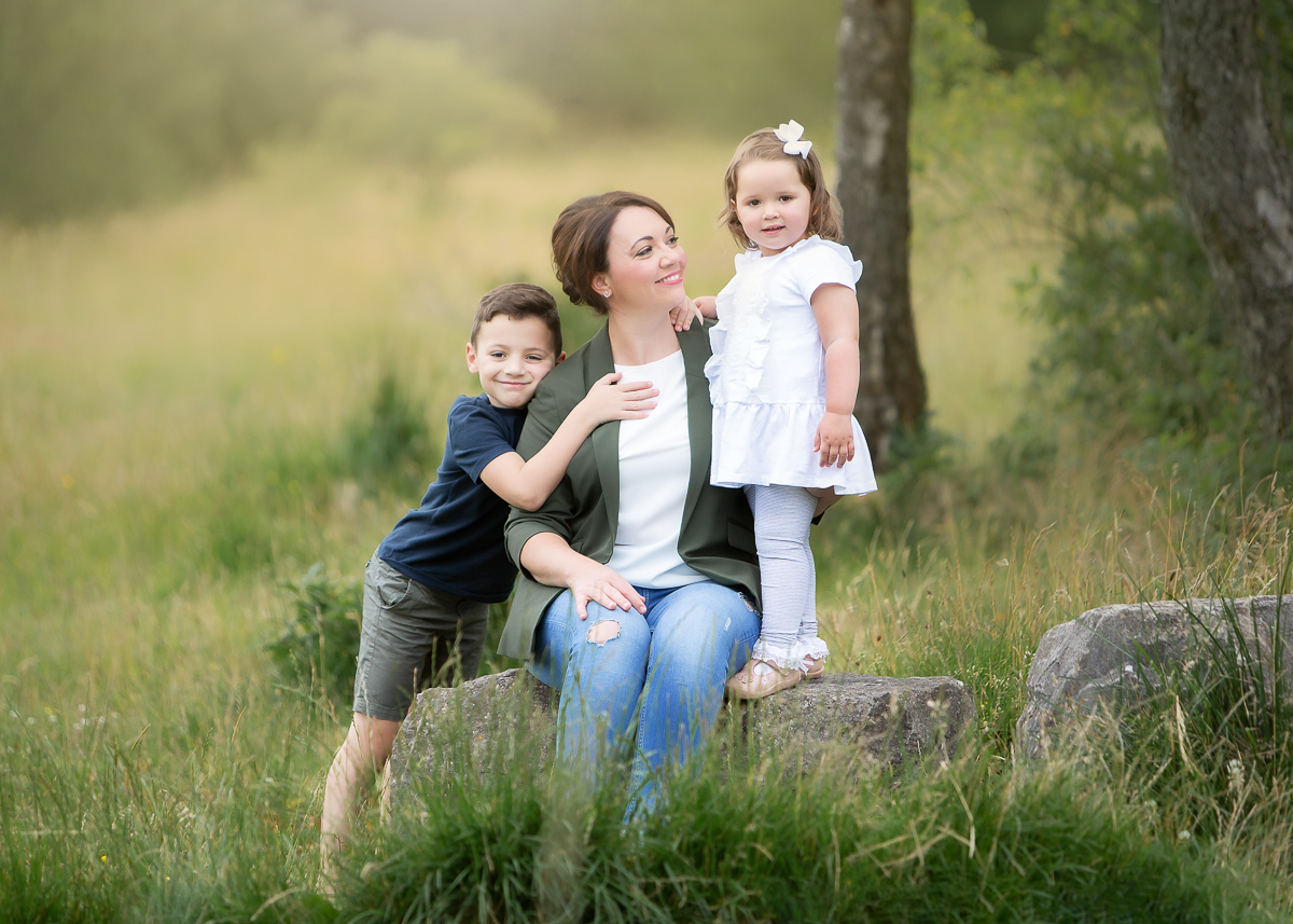 Becca & Kids at Dare Valley Country Park, Family Photography, Children Photography